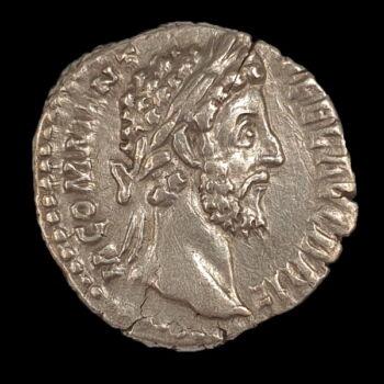 Római ezüst érme - Commodus császár ezüst denár
