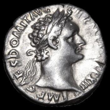 Római ezüst érme - Domitianus császár ezüst denár