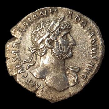 Római ezüst érme - Hadrianus ezüst denár