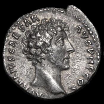 Római ezüst érme - Marcus Aurelius császár ezüst denár