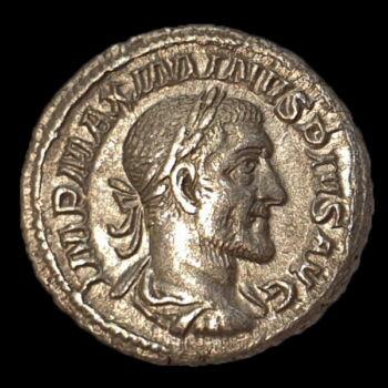 Római ezüst érme - Maximinus Thrax ezüst denár