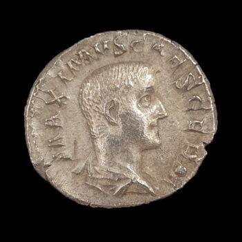 Római ezüst érme - Maximus ezüst denár