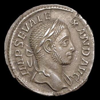 Római ezüst érme - Severus Alexander ezüst denár