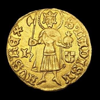Luxemburgi Zsigmond magyar király (1387-1437) - Aranyforint