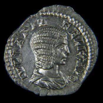 Római ezüst érme - Julia Domna ezüst denár