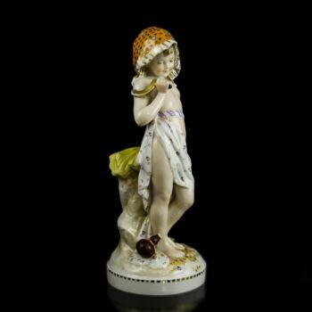 Höchste porcelán figura  A nyár allegóriája