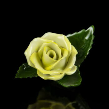 Herendi sárga rózsa