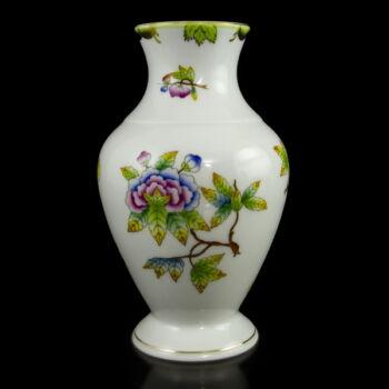 Herendi porcelán Viktória (VBO) mintás váza