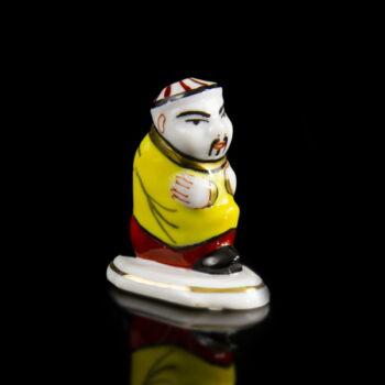Herendi porcelán kínai figurás csikkelnyomó