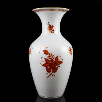 Herendi porcelán váza Orange Apponyi dekorral