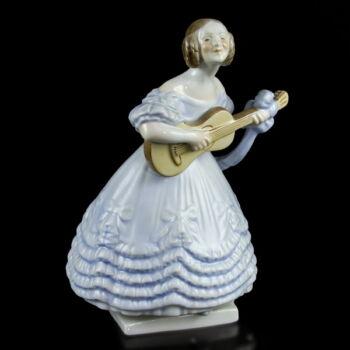 Herendi porcelán Déryné figura