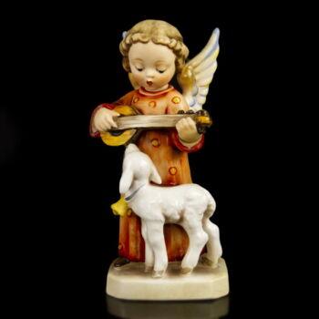 Hummel angyalka báránnyal