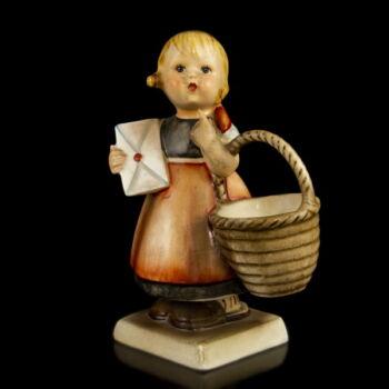 """Hummel figura kislány kosárral (""""Meditation"""")"""