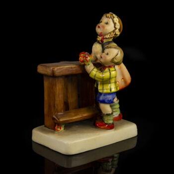 Hummel kerámia figura Imádkozó gyermekek (Adoration)