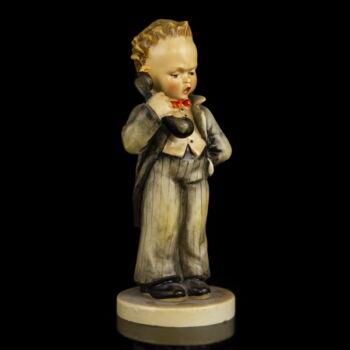 Hummel kerámia figura Telefonáló kisfiú
