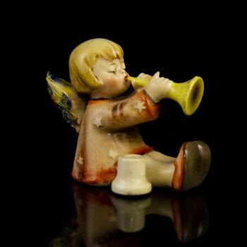 Hummel trombitázó angyalka figura
