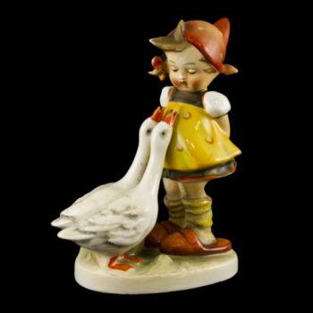 Hummel figura: Kislány libákkal (Goose Girl)