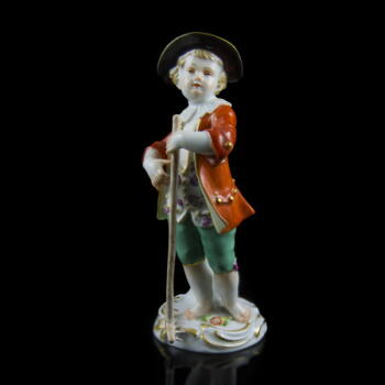 Meisseni porcelán figura