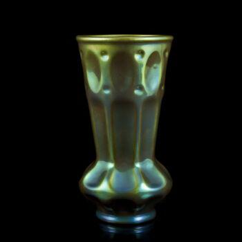 Zsolnay eozin mázas váza