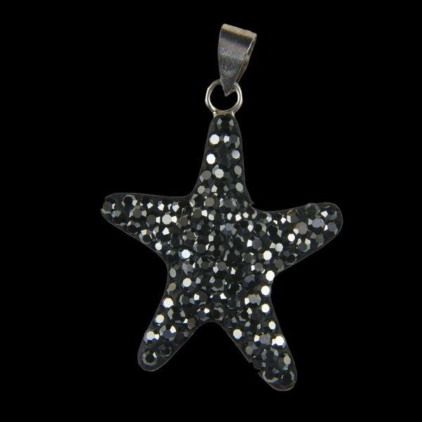 Ezüst tengeri csillag medál