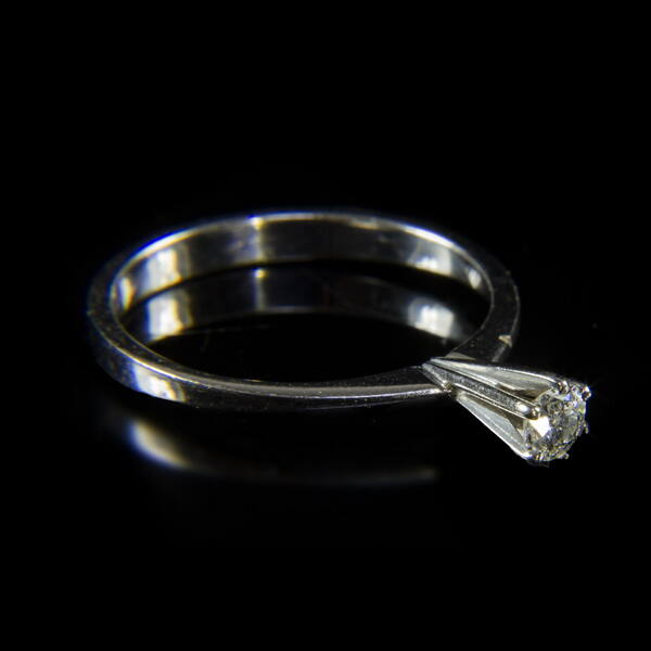 Szoliter briliáns női gyűrű