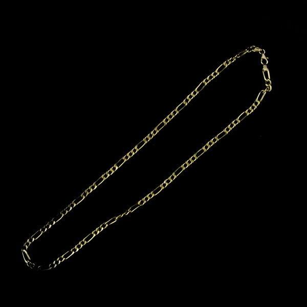"14 karátos arany ""Figaro"" nyaklánc (12.2 gramm)"