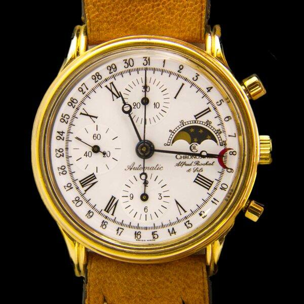 Chronoswiss Alfred Rochat & Fils Automatic Chronograph karóra