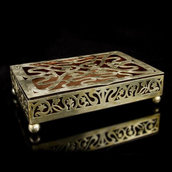 A.K & Cie Art Nouveau szecessziós ékszertartó doboz