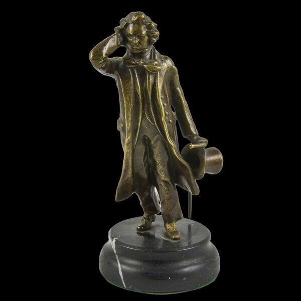 Beethoven bronz kisplasztika