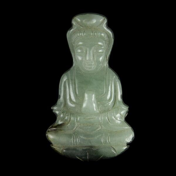 Burmai jade medál