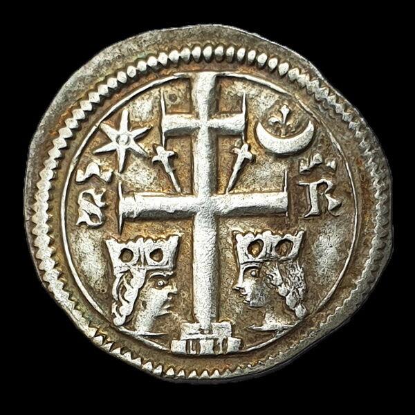 Árpád-házi ezüst érme - V. István Szlavón Dénár