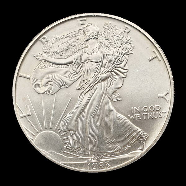 1 Dollár 1993 Walking Liberty