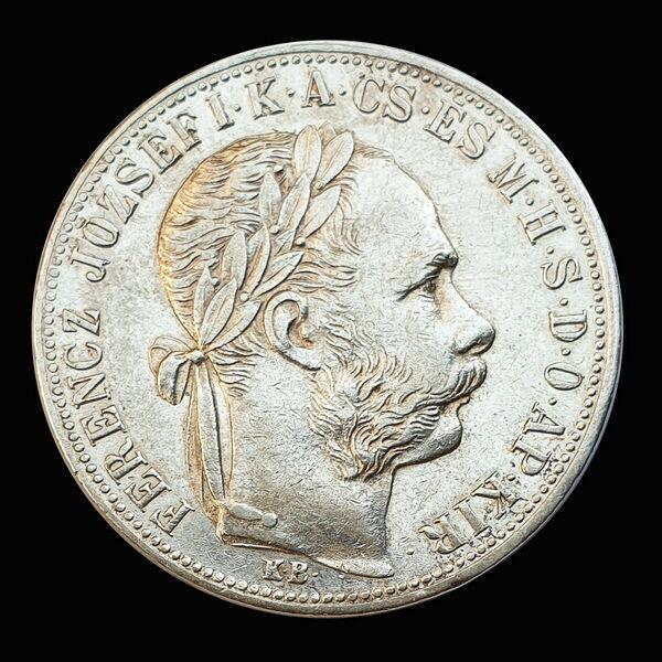 Ferenc József 1 Forint 1883 KB