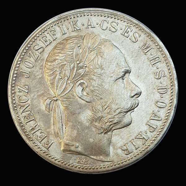 Ferenc József 1 Forint 1889 KB