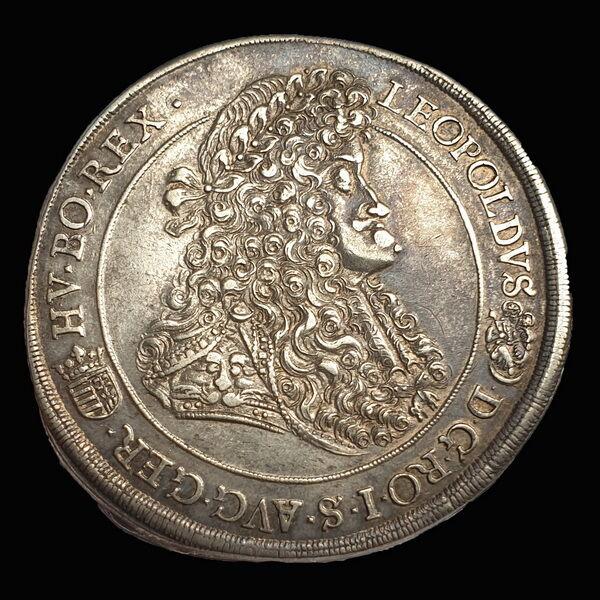 I. Lipót ezüst tallér 1692 Körmöcbánya