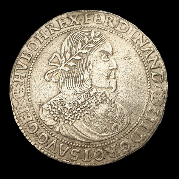 III. Ferdinánd ezüst tallér 1657 KB