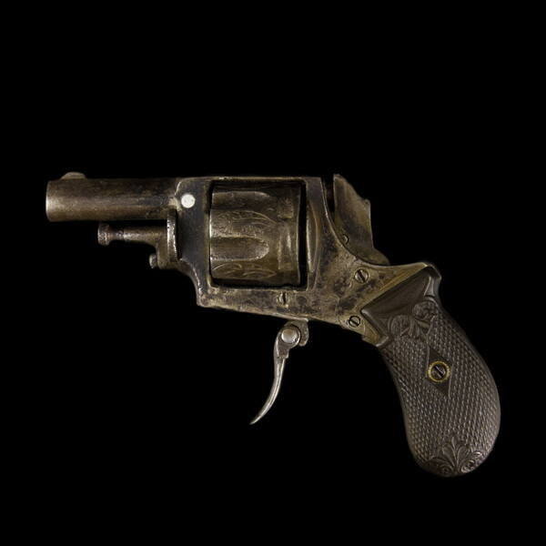 Forgótáras női revolver (hatástalanított)