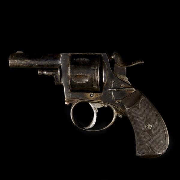 Forgótáras revolver (hatástalanított)