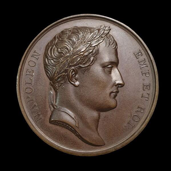 Napóleon emlékérem az 1814. februári győzelmek emlékére