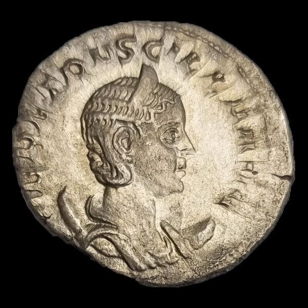 Herennia Etruscilla római császárné (Kr.u. 249-251) ezüst antoninianus - PVDICITIA AVG