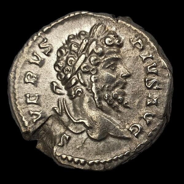 Septimius Severus római császár (Kr.u. 193-211) ezüst denár - PART MAX PM TR P VIIII