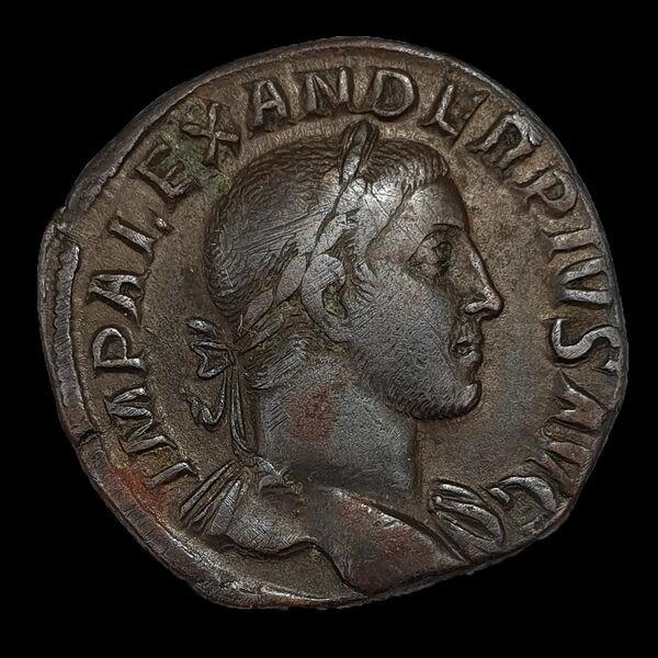 Severus Alexander bronz sestertius