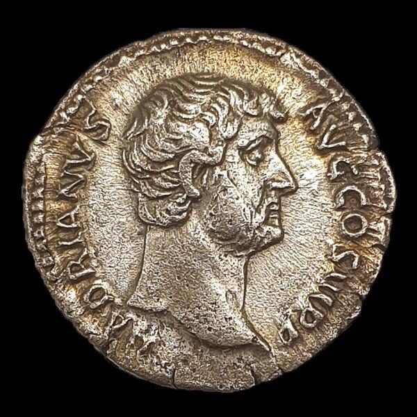 Római ezüst érme - Hadrianus császár ezüst denár