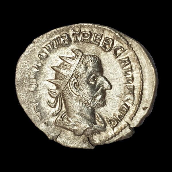 Római ezüst érme - Trebonianus Gallus ezüst antoninianus