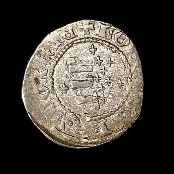 I. Nagy Lajos magyar király (1342-1382) ezüst denár