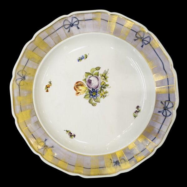 Alt Wien porcelán falitányér