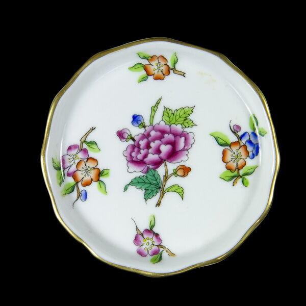 Herendi porcelán Eton mintás kerek tálka
