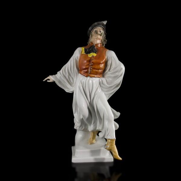 Herendi táncoló betyár figura