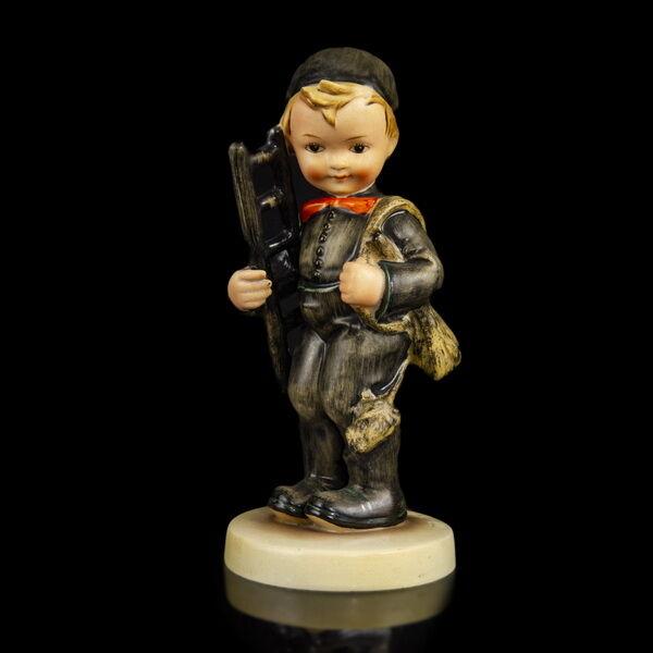 Hummel kerámia figura Kéményseprő kisfiú (Chimney Sweep)