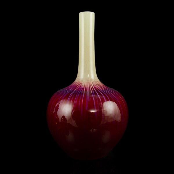 Kínai váza Yao Bian mázzal